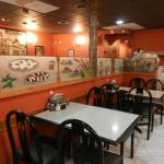 Dining area at Antonio's