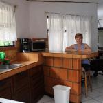 Vu de la cuisine (Villa 14)