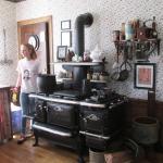 Kitchen - the original stove