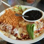 Enchiladas with Ranchero Sauces