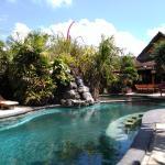 Swimming pool at Puri Cendana hotel