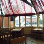 Spacious dining areas