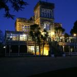 Larnach Castle at sunset