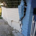 muro recinzione