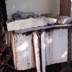 scolo esterno acque maleodoranti