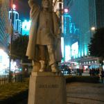 Estatua del primero colonizador portugues en china
