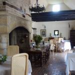 La salle à manger du restaurant