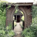 entrance garden of walled garden