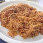Calamari with pasta