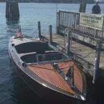 Millie B at dock in Wolfeboro