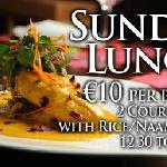 SUNDAY LUNCH €10 PP