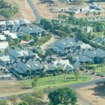 Freshwater Apartments from the air - a great place to stay!