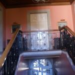 Inside the casa