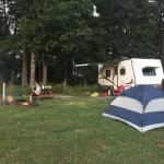 We camped in RV/tent site #4 over Labor Day weekend and loved it!