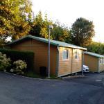 Zona bungalow en el camping