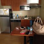 Kitchenette & Work Space