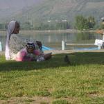 Nagin Lake View from Hazratbal Shrine