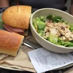 Asian Sesame Chicken salad & Italian combo