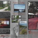 Hideaway Brochure page 1