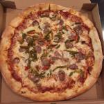 Large Sausage, Pepper & Onion Pizza