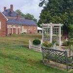 Garden and the rear of the Mansion.
