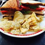 Sandwich maison délicieux