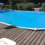 Pool at the Gites