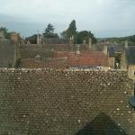 View from the attic room