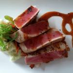 Sesame seared Tuna - Drawbridge Bistro
