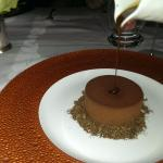 the dessert I was talking about, which is a chocolate tiramisu type of cake