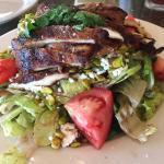 Half chicken salad - divine!
