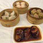 A selection of their classic dim sum fare - all good