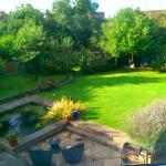 The view from our bedroom over the garden