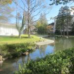 庭園は広くて散策できます。