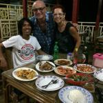 Nur Anjas ci propone una splendida cena con gustosi sapori locali