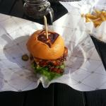 The Lab burger