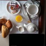"""Prima colazione in cvamera senza """"supplemento"""". Puntuali !"""