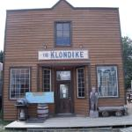 The Klondike at the fair grounds in Haines, AK