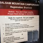 Balsam Mountain Campground Photo