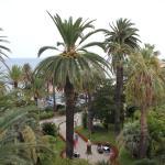 il giardino dell'hotel