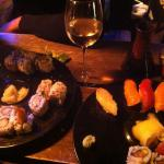 Assortiments de sushis