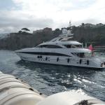 Sorrento to Naples Hydrofoil trip 6th Sept 2015