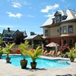Heated pool at Union Gables Inn
