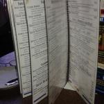 Bedntley's menu options