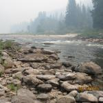 Clearwater River bank