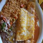 #19 Large Enchilada and Burrito