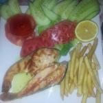 Grilled salmon yum yum