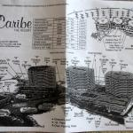 Map of Caribe - does not show locations of elevators, exits or stairwells.