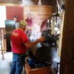 Steam Engine Running