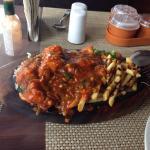 Spicy oriental chicken sizzler